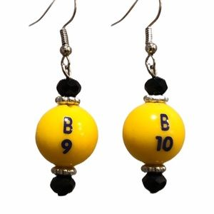 Jewelry - B-I-N-G-O! Bingo earrings